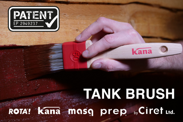The Kana Tank Brush Receives European Patent