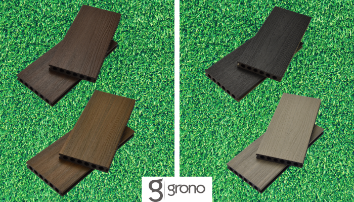 GronoDual Composite Decking