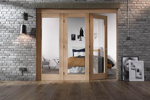 Внутренние двери - перегородка / двустворчатая дверь