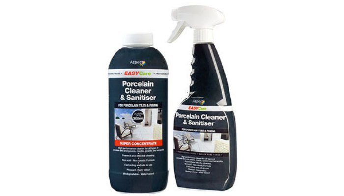 Landscaping Cleaning Products - Azpects Porcelain Cleaner and Sanitiser