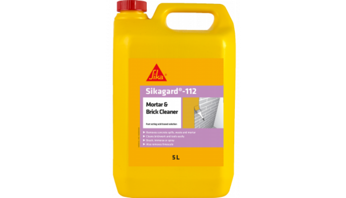Landscaping Cleaning Products - Sikagard Mortar & Brick Cleaner
