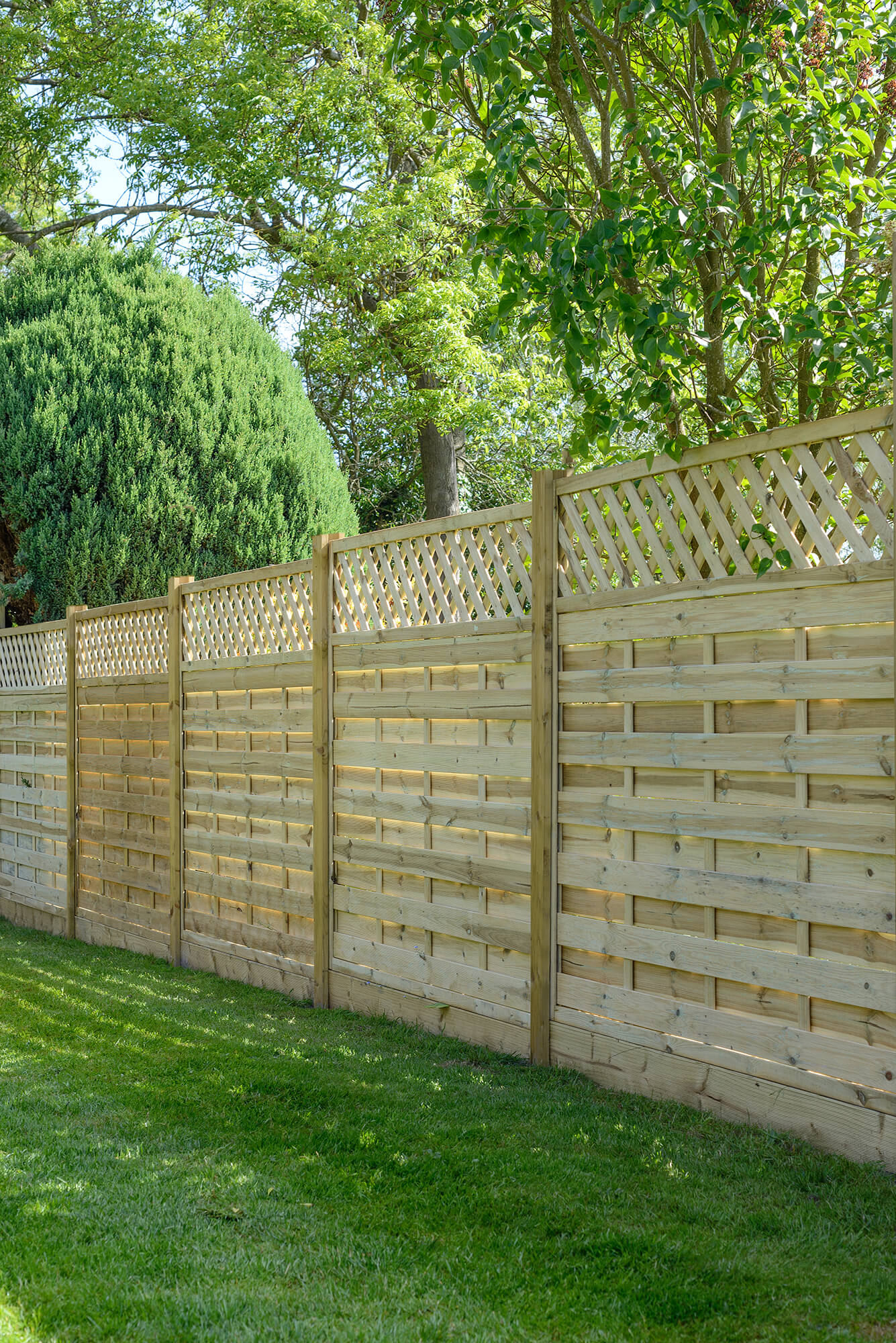 Garden Fencing, Decorative Panel, Elite St Malo