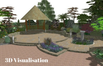 Garden Design 3D Visualisation