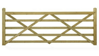 Highgrove Entrance Gate - Product