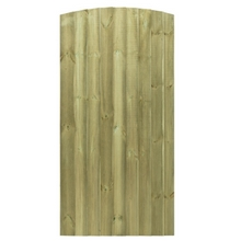 Arched Featheredge Tall Garden Gate