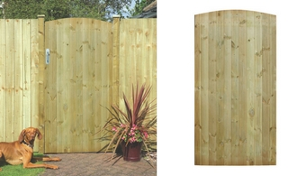 T & G Ledged & Braced Tall Gate - Garden Gates