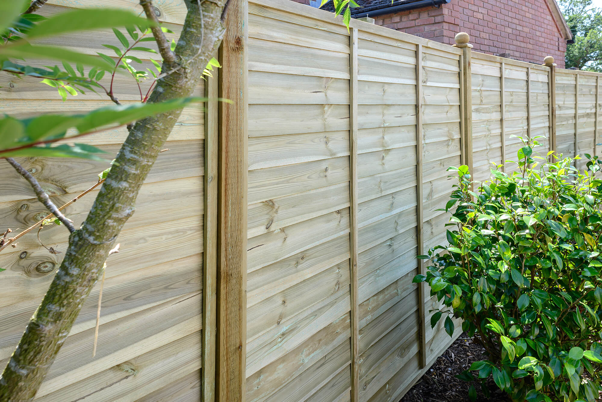 Lap Fence Panels - Ultimate