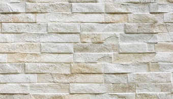 Rock Stack Wall Cladding - Cream