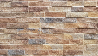 Rock Stack Wall Cladding - Rust