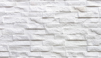 Rock Stack Wall Cladding - White
