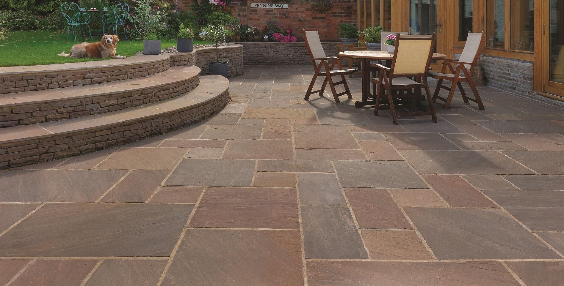 Natural Stone Paving : Natural stone paving slabs sydenhams