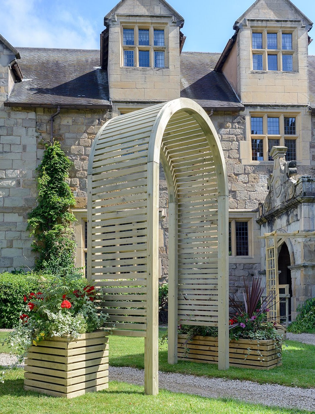 Contemporary Garden Arch