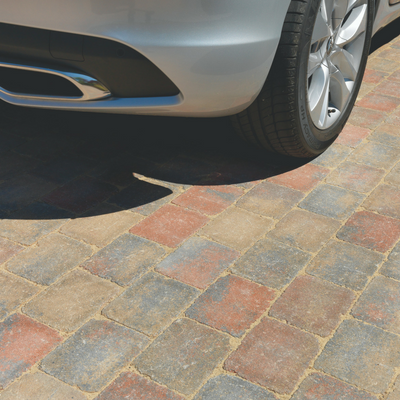 Pavesett Tumbled Block Paving