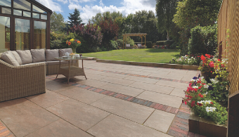 Dolomite Porcelain Paving - Sunset