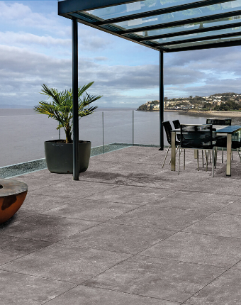 Tegal Porcelain Paving - Moon