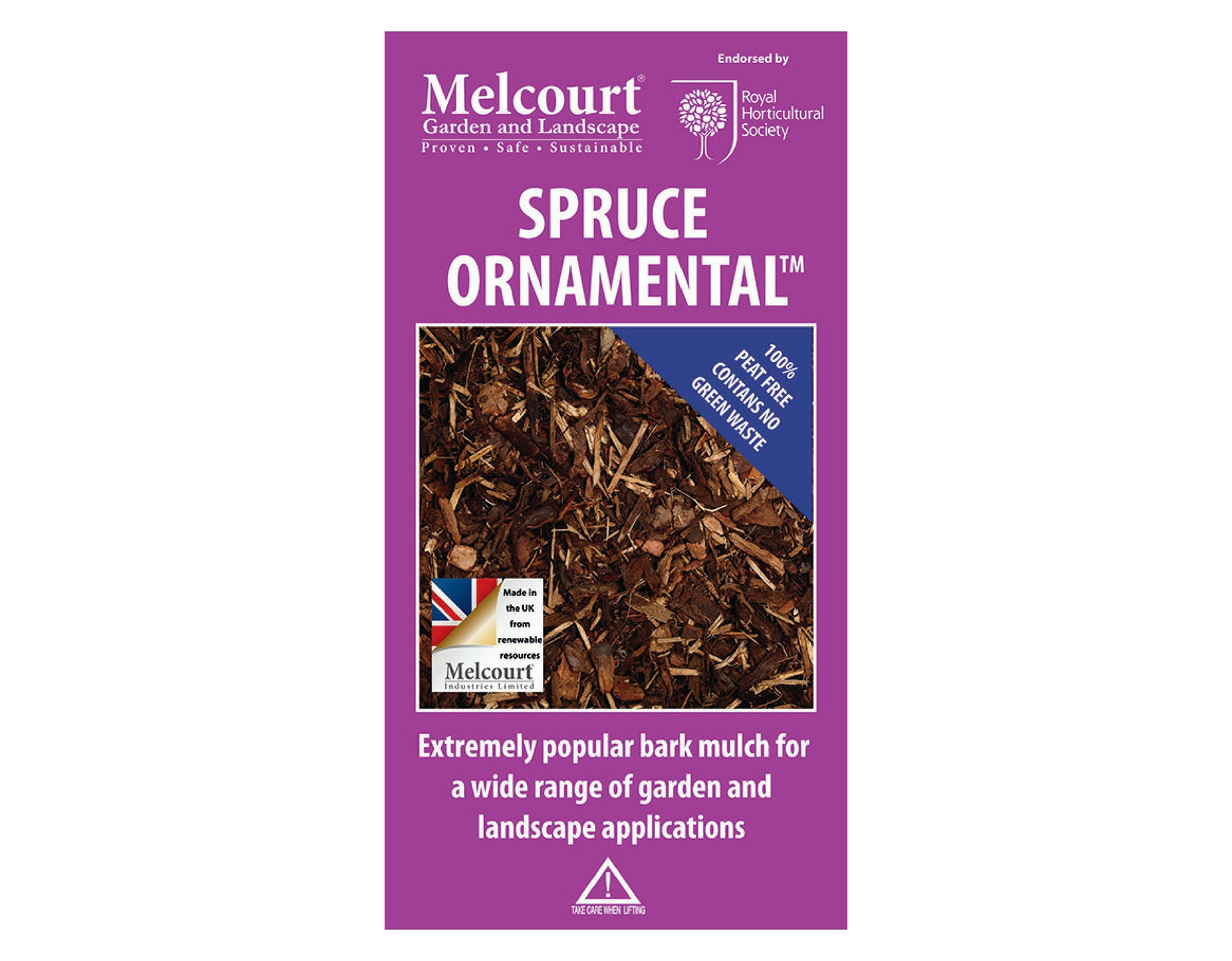 Spruce Ornamental - 60 litre bag