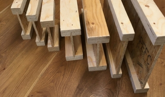 FinnFrame I Beam Floor Joists - Timber Engineering
