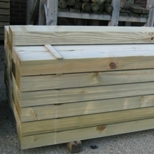Carcassing Softwood Sleepers