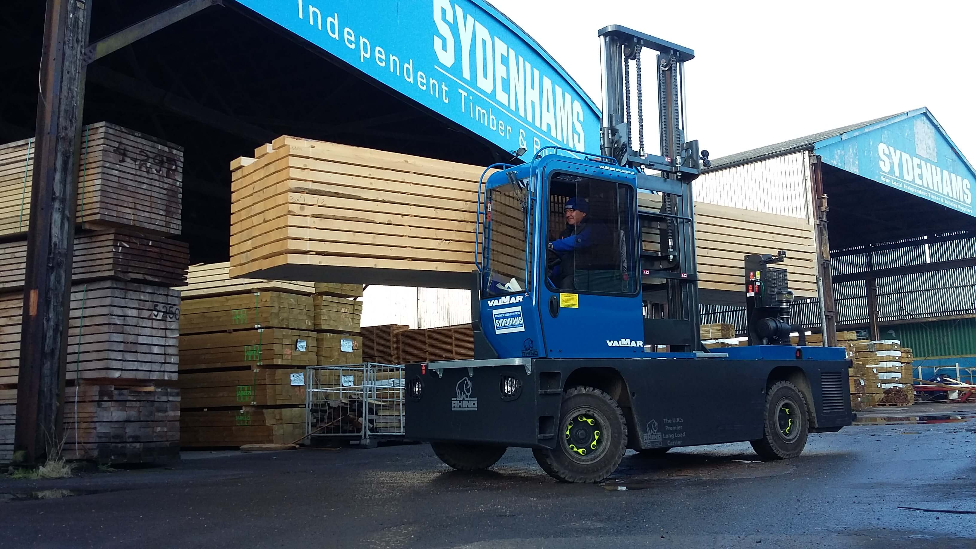 Sydenhams Timber Forklift