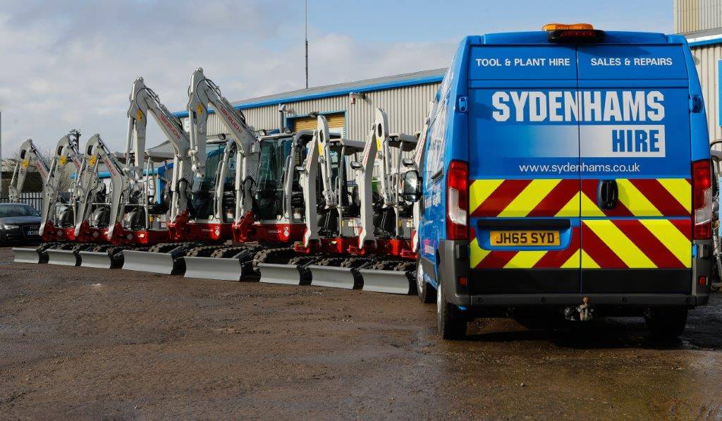 Sydenhams Hire Fleet